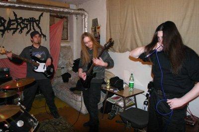 v našej šmikni / in our rehearsal room 03/2007